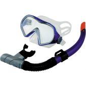 Σετ Μασκα-Αναπνευστήρας Σιλικόνης Gobby 61517