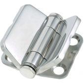 Μεντεσες Inox με Καπακι Ενiσχυμενος 39.6x41.8 mm 00215-1