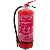 Πυροσβεστήρας 9Kg, ξηράς σκόνης ABC 40%.