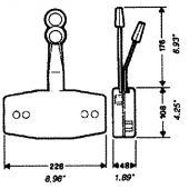 Χειριστήριο Διπλό Μηχανής Ultraflex