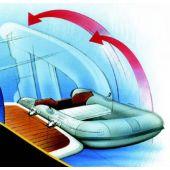 Σύστημα στήριξης φουσκωτού σκάφους tender