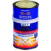 TITAN YATE ESMALTE POLIURETANO & ACRILICO Ακρυλικό Χρώμα Πολυουρεθάνης 2 συστατικών Γυαλιστερό