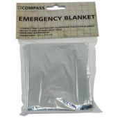 Θερμική Κουβέρτα Επιβίωσης 132X213Cm Compass 21351