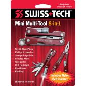 Σετ Εργαλείων 8-In-1 Mini Multi-Function Tool Swiss+Tech 21017