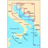 Πλοηγικός Χάρτης Κροατίας M27 ''Dubrovnik to Bar & Ulcinj'' Imray 70138