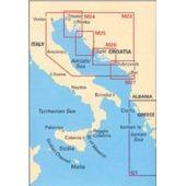 Πλοηγικός Χάρτης Κροατίας M30 ''Νότια Αδριατική & Ιόνιο Πέλαγος'' Imray 70963