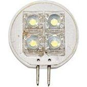 Λαμπάκι LED 12V T25 ψυχρό λευκό - 4 PIRANHA LEDs 71232