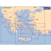 Πλοηγικός Χάρτης Ελλάδος G39 ''Από την Κάρπαθο στη Ρόδο'' Imray 99878