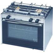 Κουζίνα με φούρνο & 2 εστίες 500x435x400mm 21kg 97846