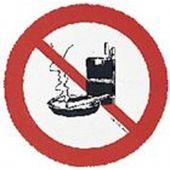 Αυτοκόλλητο PVC ''Απαγορεύεται το κάπνισμα'' 135mm 10160
