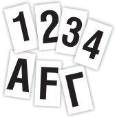 Γράμματα & Αριθμοί, Μαύρα, 7cm 97717