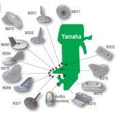 Ανόδιο για εξωλέμβιες μηχανές Yamaha 90204