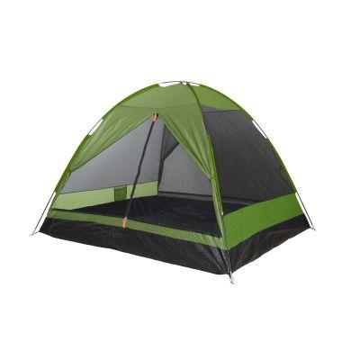 Σκηνή 4 Ατόμων με Διπλό Πανί Comet 4P Camping Plus by Terra 51-2001/111 Ασημί/Πράσινο