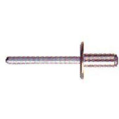 Πριτσίνια με φαρδύ κεφάλι (mm) D  4 . Ανοξείδωτο INOX 304