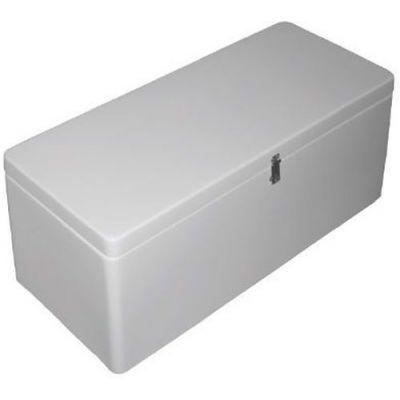 Καθισμα σκαφους με αποθηκευτικο χωρο χρωματος λευκο 04874